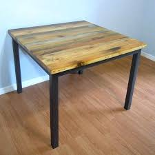 reclaimed wood square dining table reclaimed wood square dining table stunning ideas reclaimed wood