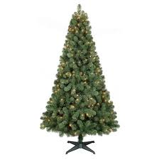 6ft prelit artificial tree alberta spruce clear