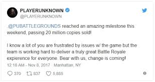 pubg sales pubg has sold 20m copies and counting funkykit
