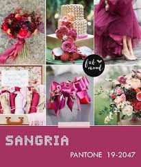 25 sangria wedding colors ideas sangria