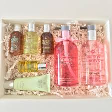 molton brown mother s day gift set little miss beauty boxes gift idea for your special mum the gorgeous purple bow on the box screams luxury and will make her feel a million dollars the molton brown products