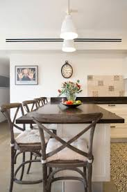 concrete tiles hanging light fixtures and plenty of places to