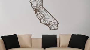 spectacular design california wall republic flag canvas