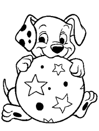 101 dalmations coloring pages coloring