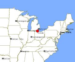 toledo ohio map toledo profile toledo oh population crime map