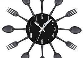 horloge cuisine pas cher couverts design pas cher avec horloge cuisine design avec grande