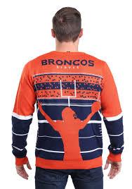 light up sweater denver broncos stadium light up sweater