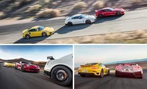 porsche 911 vs corvette 2015 chevrolet corvette z06 vs 2015 nissan gt r nismo 2014