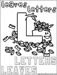 l for letters l for leaves alphabet l pinterest leaves