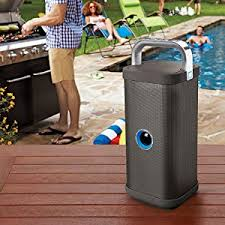 big blue party big blue party indoor outdoor bluetooth speaker home