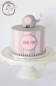 elephant baby shower cake via cake central baby shower