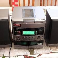Bookshelf Radio Find More Pioneer Xr P170c Book Shelf Stereo Set For 3 Cds Tape