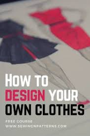 design your own clothes that suits you free mini email course