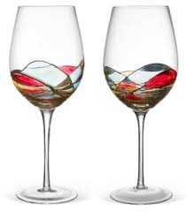 beautiful wine glasses cool wine glasses within beautiful hand painted reviews gift idea