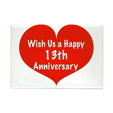 anniversary gifts for husband 13th wedding anniversary gifts for husband hppy nniversry rectngle
