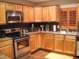 light oak cabinets dark countertops deductour com