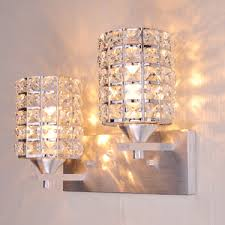 Crystal Wall Sconces Luxury Cognac Color Wall Sconces With Crystals