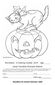Barbie Halloween Coloring Pages Pre K Halloween Coloring Pages U2013 Festival Collections