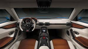 futuristic cars interior lamborghini exploring use of elegant design language