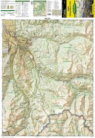 aspen map trails illustrated aspen independence pass trail map ti127