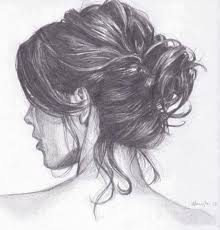 sketches of hair get makeup out of anything drawings sketches and hair sketch