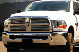 dodge ram pu 2500 3500 billet grille overlay and insert 4 pc