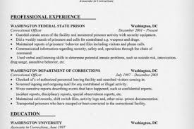 Sample Correctional Officer Resume by Cover Letter For Correctional Officer Goxur Resume Goes On And On