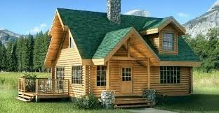 Two Story Log Homes by Wikidee Niche News