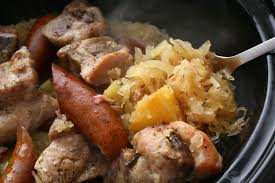 slow cooker pork and sauerkraut recipe chowhound