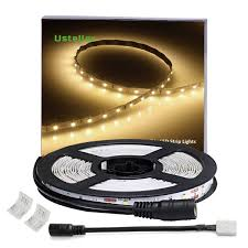 led light strip waterproof waterproof led light strip kit 300 units warm white ustellar