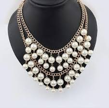 brand new pearl necklace images Women necklaces clipart jpg