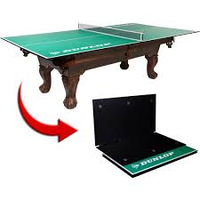 portable table tennis table dunlop official size table tennis conversion top walmart com