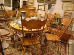 Pedestal Oak Table And Chairs Search All Lots Skinner Auctioneers