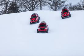 Nissan Rogue Warrior - nissan pathfinder murano and rogue get extreme snow transformations