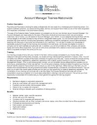 resume objective account manager sales management sample resume sample job objective resume examples of resumes for management positions planner and buyer examples of resumes for management positions