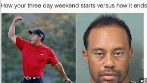 Tiger Woods Meme - tiger woods mugshot memes funny photos best jokes gifs tweets