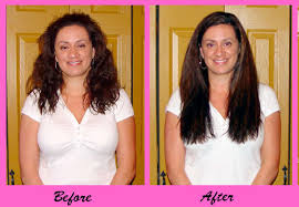 curly hair extensions before and after before afters photos