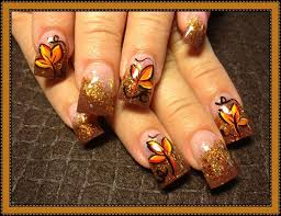 127 best fall nails images on nails nail design