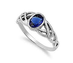 saphire rings your guide to celtic sapphire rings ebay