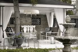 pergola curtains contemporary deck patio lukas machnik design