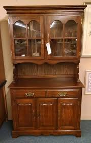 Cochrane Dining Room Furniture Cochrane Oak China Hutch Delmarva Furniture Consignment