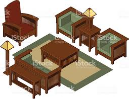 Free Living Room Furniture Isometric Living Room Furniture Stock Vector Art 165674353 Istock