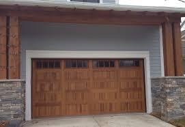 Overhead Door Michigan 16 X 8 C H I Overhead Door Model 5983 Accent Color Cedar