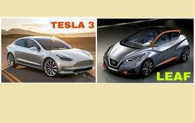 how to compare 2018 nissan leaf to tesla model 3 or why you