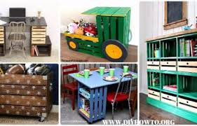 How To Make A Toy Storage Bench by Crate Tractor Toy Storage Archives U2022 Diy How To