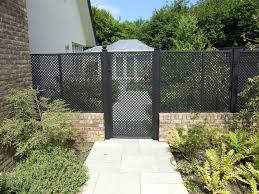 see through fence windbreak garden design ideas photo gallery