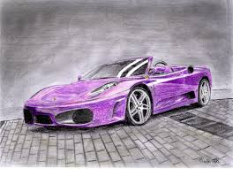 ferrari drawing ferrari f430 spider drawing by m a z a on deviantart