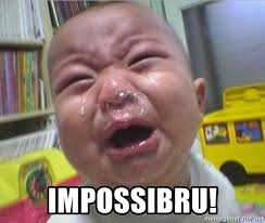 Impossibru Meme Generator - impossibru booger baby crying meme generator