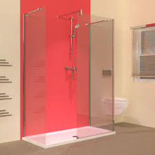1400 Shower Door Line 1400 X 700 Walk In 3 Sided Frameless Shower Enclosure With