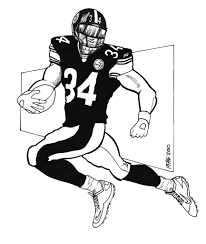 steelers coloring page nfl coloring pages free coloring pages